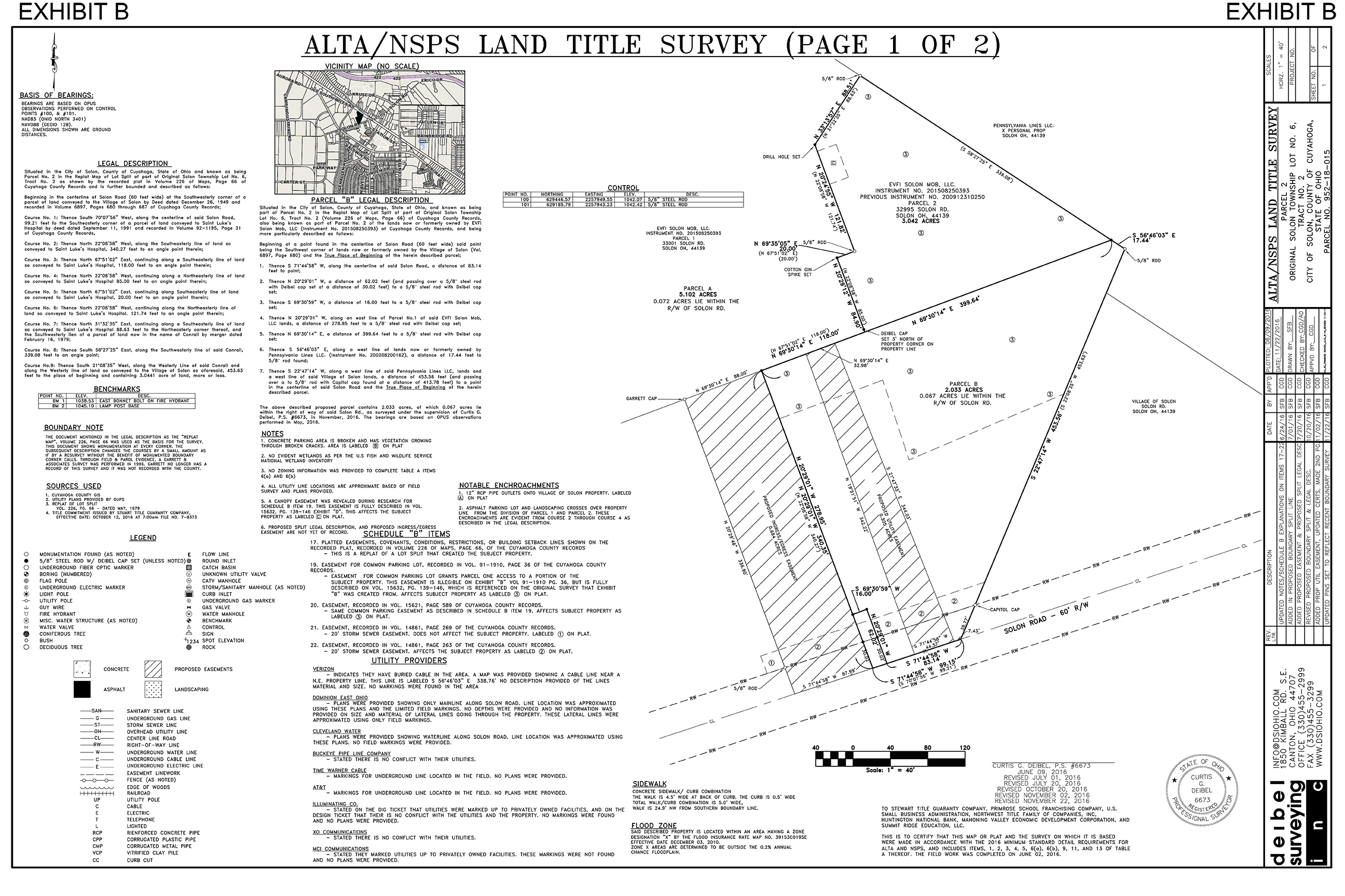 ALTA/NSPS land title survey